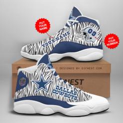 NFL Dallas Cowboys Air Jordan 13 Shoes Personalized V14