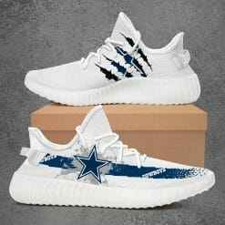NFL Dallas Cowboys Yeezy Boost White Sneakers V1