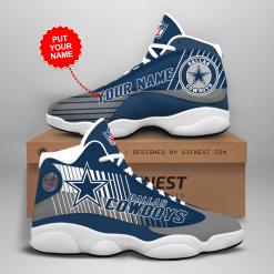 NFL Dallas Cowboys Air Jordan 13 Shoes Personalized V1