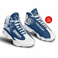 NFL Dallas Cowboys Air Jordan 13 Shoes Personalized V10