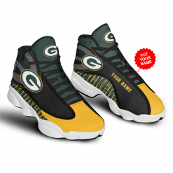 NFL Green Bay Packers Air Jordan 13 Shoes Personalized V2