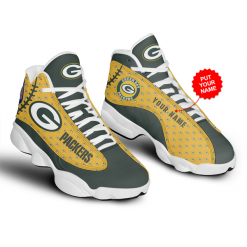NFL Green Bay Packers Air Jordan 13 Shoes Personalized V8