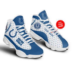 NFL Indianapolis Colts Air Jordan 13 Shoes Personalized V3