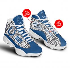 NFL Indianapolis Colts Air Jordan 13 Shoes Personalized V2