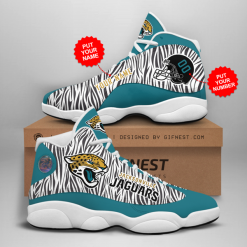 NFL Jacksonville Jaguars Air Jordan 13 Shoes Personalized V2