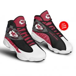 NFL Kansas City Chiefs Air Jordan 13 Shoes Personalized V1