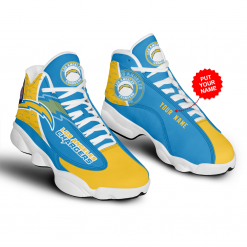 NFL Los Angeles Chargers Air Jordan 13 Shoes Personalized V1