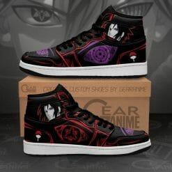 Naruto Anime Sasuke Uchiha Air Jordan 1 Shoes V3