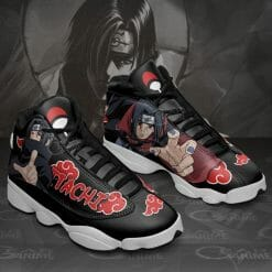 Naruto Anime Itachi Uchiha Air Jordan 13 Shoes V1