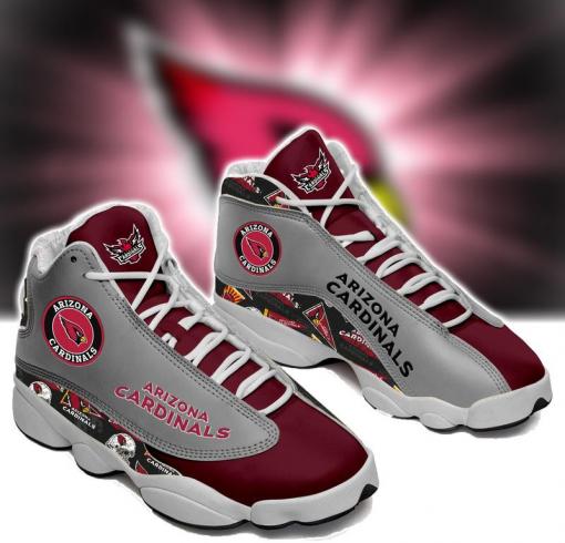 NFL Arizona Cardinals Air Jordan 13 Shoes V2