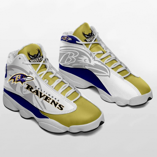 NFL Baltimore Ravens Air Jordan 13 Shoes V2