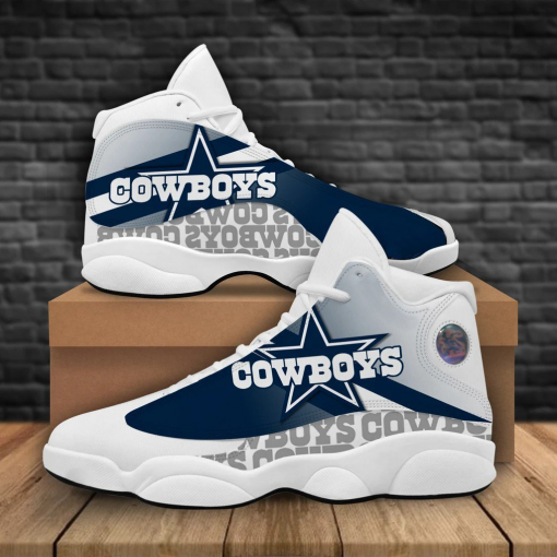 NFL Dallas Cowboys Air Jordan 13 Shoes V2
