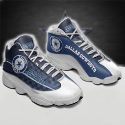 NFL Dallas Cowboys Air Jordan 13 Shoes V4