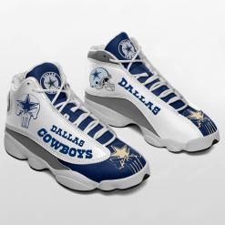 NFL Dallas Cowboys Air Jordan 13 Shoes V7