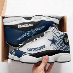 NFL Dallas Cowboys Air Jordan 13 Shoes V8