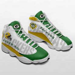 NFL Green Bay Packers Air Jordan 13 Shoes V2