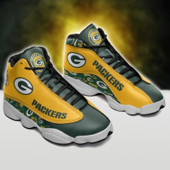 NFL Green Bay Packers Air Jordan 13 Shoes V3