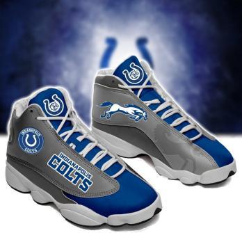 NFL Indianapolis Colts Air Jordan 13 Shoes V2