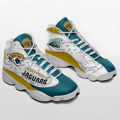 NFL Jacksonville Jaguars Air Jordan 13 Shoes V2