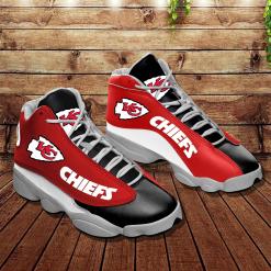 NFL Kansas City Chiefs Air Jordan 13 Shoes V2