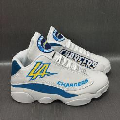 NFL Los Angeles Chargers Air Jordan 13 Shoes V2