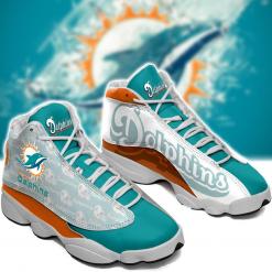 NFL Miami Dolphins Air Jordan 13 Shoes V2