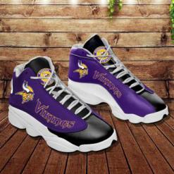 NFL Minnesota Vikings Air Jordan 13 Shoes V2