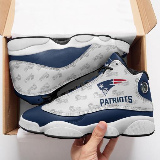 NFL New England Patriots Air Jordan 13 Shoes V6