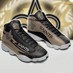NFL New Orleans Saints Air Jordan 13 Shoes V2