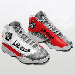 NFL Oakland Raiders Air Jordan 13 Shoes V2