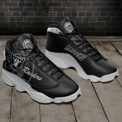 NFL Oakland Raiders Air Jordan 13 Shoes V4