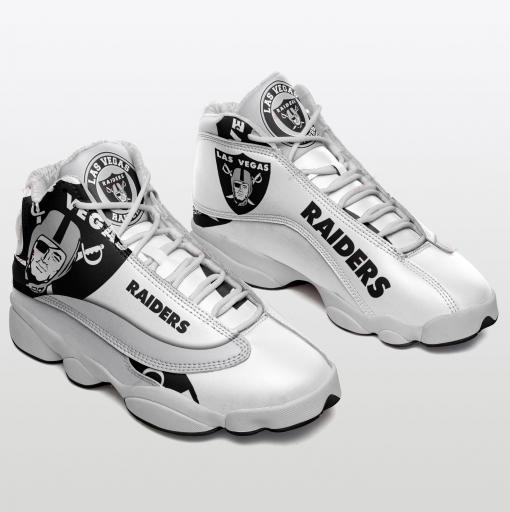 NFL Oakland Raiders Air Jordan 13 Shoes V5