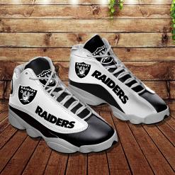 NFL Oakland Raiders Air Jordan 13 Shoes V6