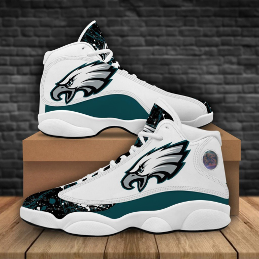 NFL Philadelphia Eagles Air Jordan 13 Shoes V2