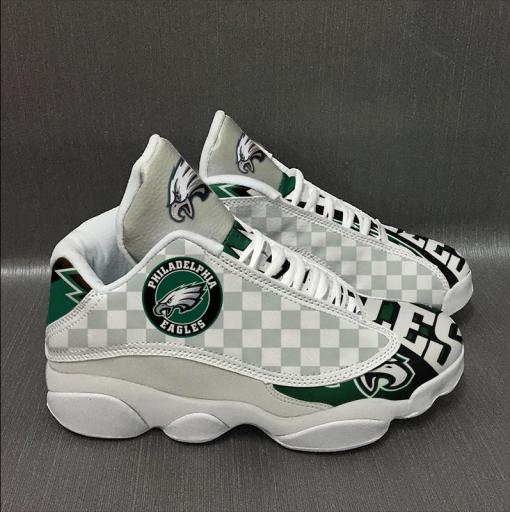 NFL Philadelphia Eagles Air Jordan 13 Shoes V3