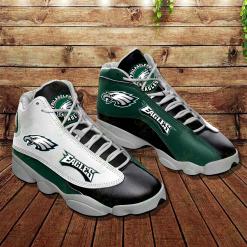 NFL Philadelphia Eagles Air Jordan 13 Shoes V4