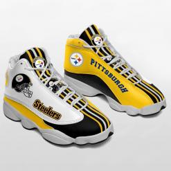 NFL Pittsburgh Steelers Air Jordan 13 Shoes V3