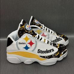 NFL Pittsburgh Steelers Air Jordan 13 Shoes V4