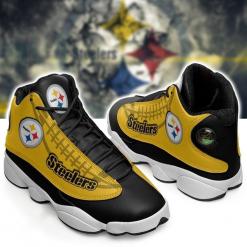 NFL Pittsburgh Steelers Air Jordan 13 Shoes V6