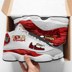 NFL San Francisco 49ers Air Jordan 13 Shoes V3