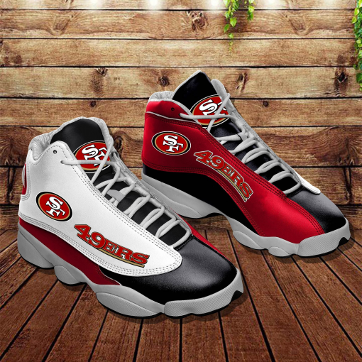 NFL San Francisco 49ers Air Jordan 13 Shoes V6