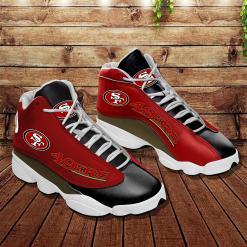 NFL San Francisco 49ers Air Jordan 13 Shoes V7