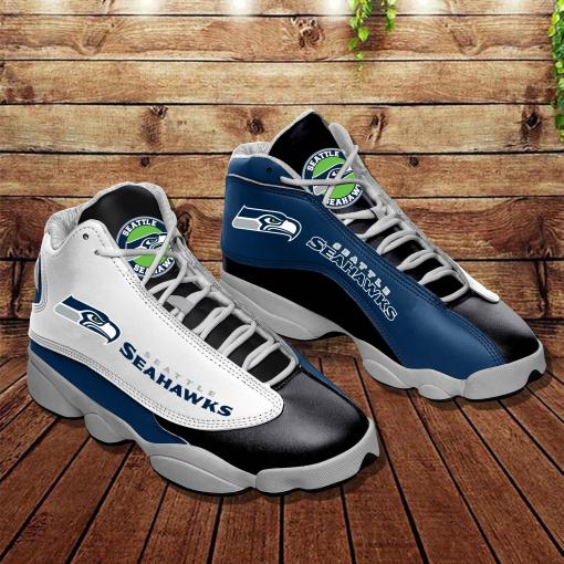 NFL Seattle Seahawks Air Jordan 13 Shoes V3