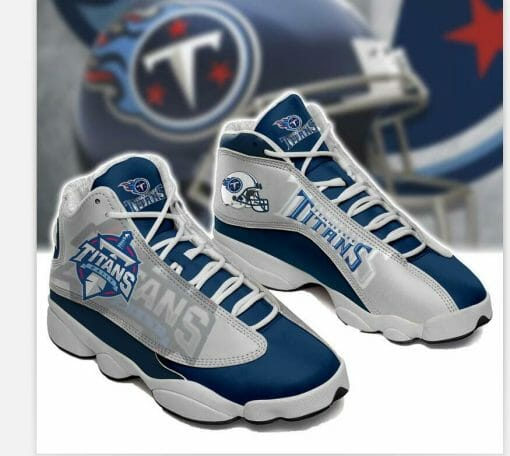 NFL Tennessee Titans Air Jordan 13 Shoes V2