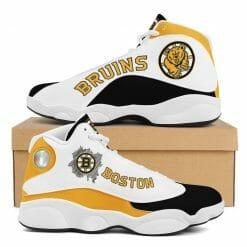 NHL Boston Bruins Air Jordan 13 Shoes V2
