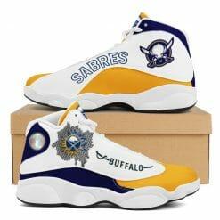 NHL Buffalo Sabres Air Jordan 13 Shoes V2