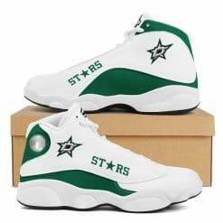 NHL Dallas Stars Air Jordan 13 Shoes V2