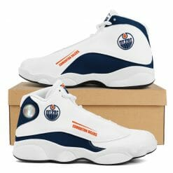 NHL Edmonton Oilers Air Jordan 13 Shoes V2