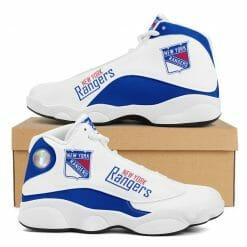 NHL New York Rangers Air Jordan 13 Shoes V2