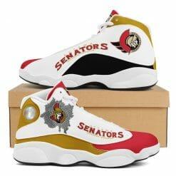 NHL Ottawa Senators Air Jordan 13 Shoes V2